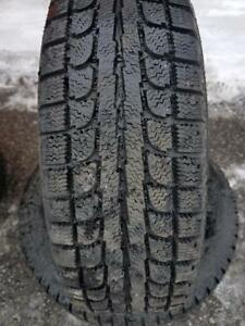 2 PNEUS HIVER - MAXTREK 175 65 14 - 2 WINTER TIRES