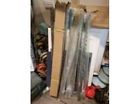 Wall starter kits , stainlesd steel brand new