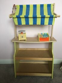 Wooden Toy Stall