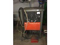 BOC Transtig AC/DC 375 Tig/MMA welder spares or repairs