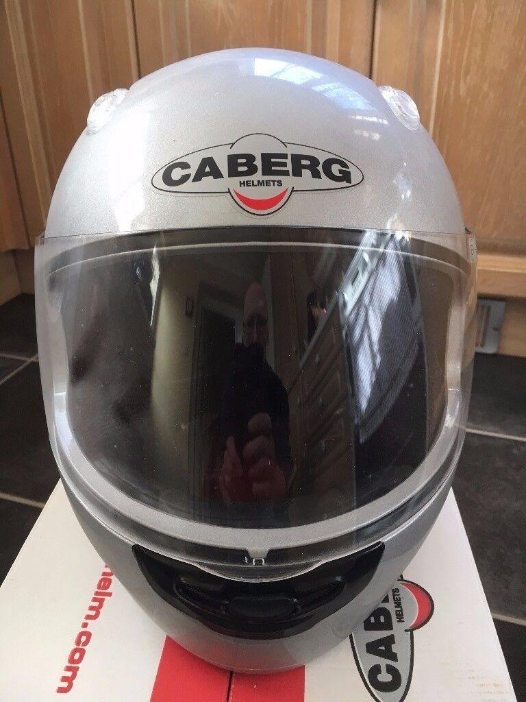 Full face crash helmet, size small