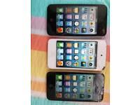 Job lot 3 ipod touch 8gb 16gb 32gb apple