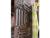 Spanners's job lot