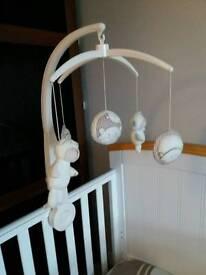 Mamas &Papas Baby cot carousel