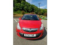 2012 Vauxhall Corsa. Only 55k with FSH. Years mot