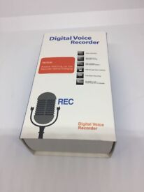 Brand new Digital Voice Recorder, ieGeek 8GB 1536Kbps Stereo Sound Audio Recorder Portable HD D