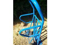 Blue 6-wheel stair climbing sack trolley (200 kg)