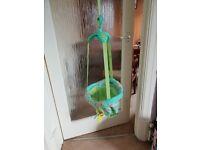 Bright starts door bouncer excellent condition