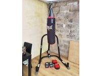 Everlast Punchbag and Stand