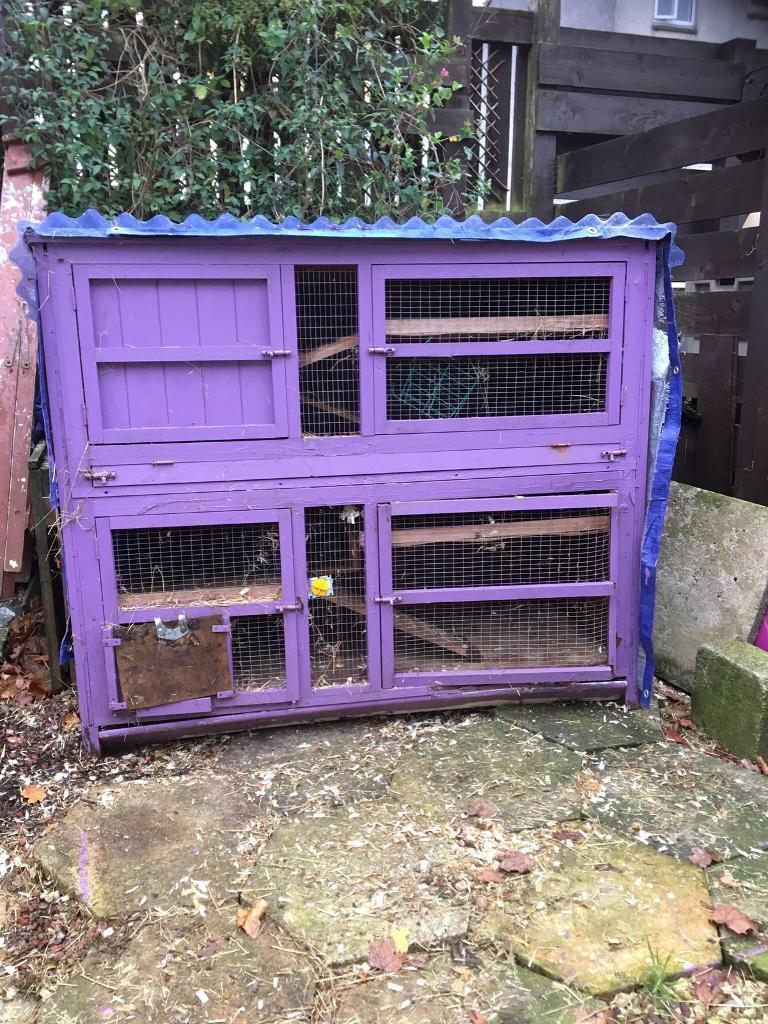 Huge FREE FREE HUTCH NEEDS A VAN