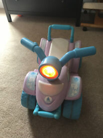 Toddler Quad bike battery powered INJUSA model with new battery