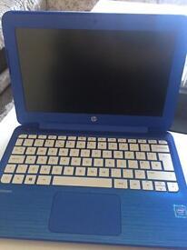 HP stream 11- 11.6 inch laptop, blue