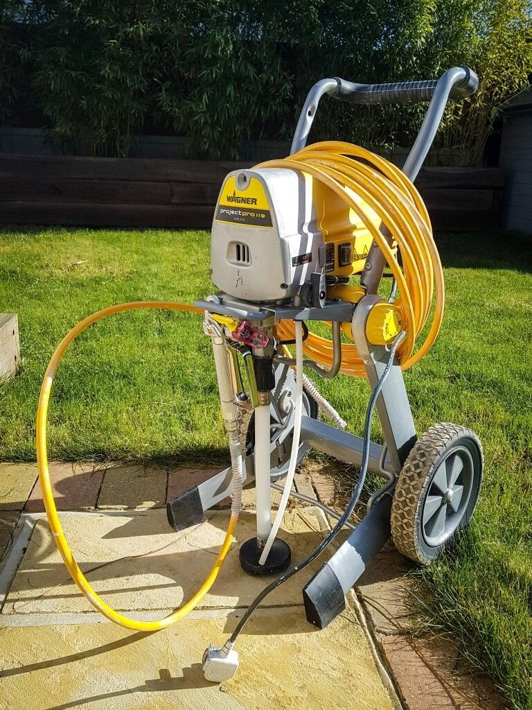 Häufig Wagner Project Pro 119 Airless Paint Sprayer | in Wickford, Essex UM87
