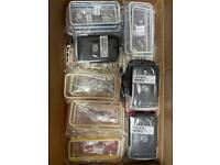 JOB LOT - x138 IPHONE 5/5S BUMBERS, x6 COVERS - x6 Blackberry Pouch