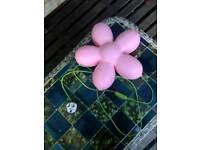 Ikea pink flower light