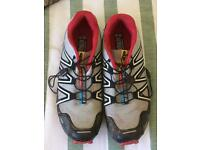 Salomon size 11 trail trainers
