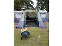 8 man steele frame easy to erect tent