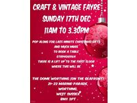 CRAFT & VINTAGE FAYRE CHRISTMAS GIFTS WORTHING WEST SUSSEX