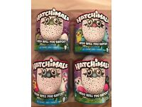 Still available selling quick!! Hatchimals Teal, Green, Purple and Owlicorn available