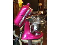 Kitchenaid artisan mixer ice pink in excellent condition
