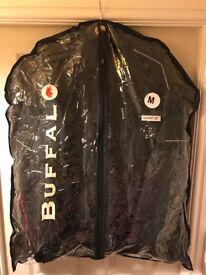 Unisex Buffalo Black Motor Bike Jacket Size Medium In Excellent Condition