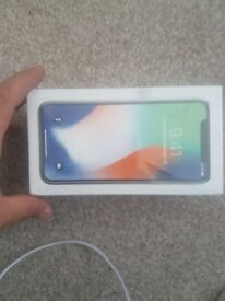 Brand new Iphone X silver