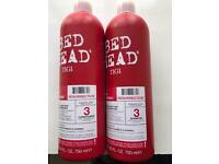 TiGi bed head Shampoo + conditioner
