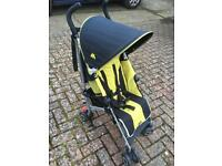 Maclaren quest child's pushchair buggie