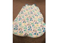 Mothercare sleeping bag. 2.5 tog 6-18 months