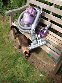Dyson DC08 T pull along cylinder vacuum cleaner cleaned and refurbished