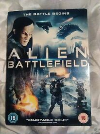 Alien Battlefield DVD
