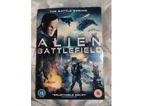 Alien Battlefield DVD