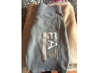 Ea7 genuine grey jacket and shorts.