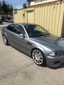 BMW E46 M3 £5k just spent on engine very rare colour combination
