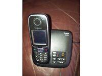 Gigaset phone with answering machine.