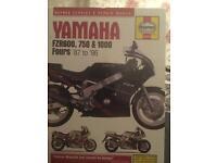 Yamaha fzr manual