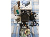 GAMECUBE boxed with PIKMIN game and controller, cables , memory card