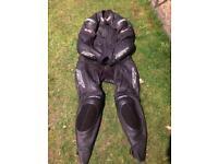 Motorcycle leathers large