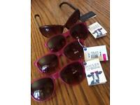 Designer joules and French connection ladies sunglasses