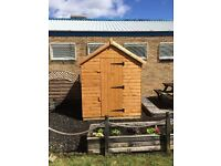 SPECIAL OFFER 8 X 6 SHED - DELIVERED AND ASSEMBLED