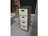 Filing Cabinet (4 drawer lockable with 2 keys)
