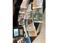 Nintendo 3DS XL games console with accessories and 14 games