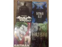 4 batman graphic novels