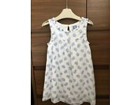 GIRLS WHITE SLEEVLESS DRESS FROM GAP