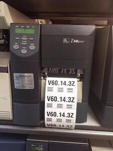 Zebra Z4MPlus Thermal Barcode Label Printer Z4M Plus Z4M00-2001-0020