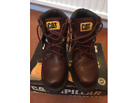 CAT Leather Boots UK 3 (Eur 36) - almost new