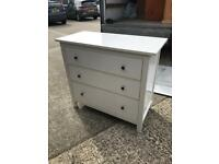 Modern high gloss chest of drawers