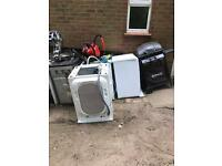Good load of scrap metal for free - 4 appliances and 2 BBQs and other stuff!