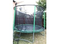 Rebo 10 foot Trampoline with safety net