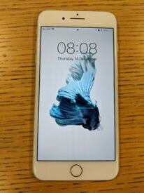 Iphone 8 Plus, 256gb in Silver Mint Condition on O2 Network